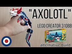 LEGO Creator 31088 Alternative build tutorial AXOLOTL、レゴクリエイター31088をウーパールーパーに組み替え - YouTube Lego Creator, The Creator, Artwork For Home, Axolotl, Lego City, Alternative, Construction, Youtube, Geek Crafts