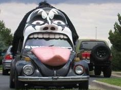 Kiss Car Lol Ferrari Lamborghini Gene Simmons Weird Cars Crazy