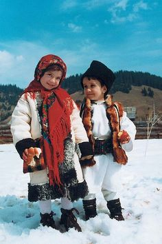 Moldovan Traditional clothing