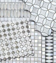 Glass mosaic tile - THE WATER GLASS COLLECTION - SICIS