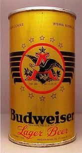 Old Budweiser beer can