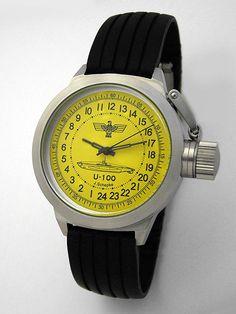 Russian mechanical watch Submarine U-100 SCHEPKE