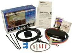 Rain Tracker Rain Sensing Windshield Wiper Controls by Hydreon Corporation. $89.95. The Rain Tracker automotive rain sensor, senses rain, sleet, snow or road spray hitting your windshield, and automatically runs your wipers at just the right speed.  You don't have to take your hands off the wheel, or constantly adjust the speed of your wipers as road conditions change.  The Rain Tracker does it all for you, making driving safer and easier.   Exceptional rain sensing performance. ...