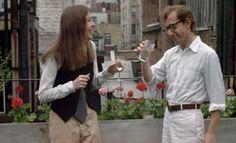 """Diane Keaton and Woody Allen in """"Annie Hall"""". La-di-da."""