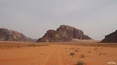 Wadi Rum, the red desert of Jordan