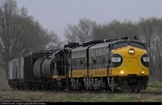 RailPictures.Net Photo: PREX 1752 Keokuk Junction Railway EMD FP9 at Cuba, Illinois by Steve Smedley