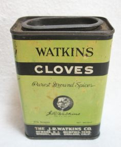 Early Watkins Cloves Advertising Tin ~  SOLD