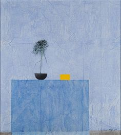 Reino Hietanen (Finland 1932-2014) Still life (2008) mixed media 88 x 78 cm