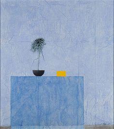 Reino Hietanen (Finland 1932-2014) Still life (2008) mixed media 88 x 78 cm