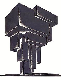 """Iakov Chernikhov   Construction of Architectural and Machine Forms """"The architect should not limit the sphere of his work with narrow frames and servile imitations, but, where necessary, should overcome obstacles by means of his powerful fantasy and bravely move forward. Those who think that the architect's activity should embrace only current realistic requirements are thinking incorrectly and falsely."""""""