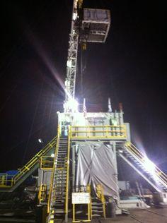 Life in oil field