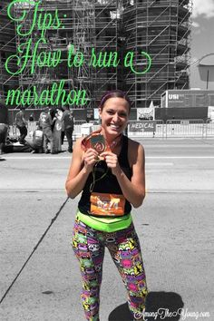 Among the Young: Tips to run a Marathon From one of the most energetic and positive people I've met :) #marathon #running