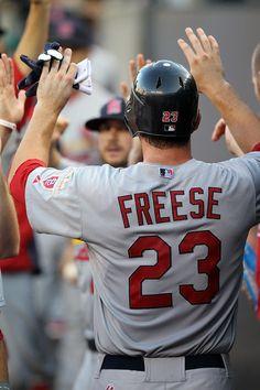 David Freese Photo - St Louis Cardinals v Detroit Tigers