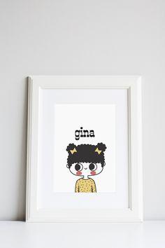 Your kid's portrait