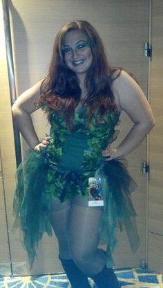 great tulle bustle skirt. :) Poison Ivy is an intense character.