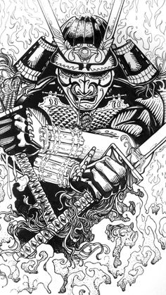 collaboration_blog_steve_ink_8 #samurai #martialarts #art