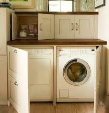 how to hide hose conncection of washing machine - Google Search