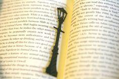 Narnia Lamp Post  Handcut Silhouette Bookmark by GracefulDiligence