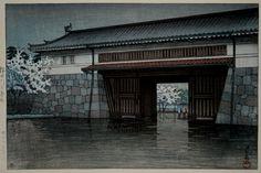 Японский художник Kawase Hasui (Кавасе Хацуи) (307 фото)