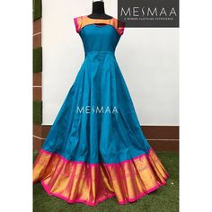 Kids Blouse Designs, Dress Neck Designs, Kurta Designs Women, Frock Design, Kurti Designs Party Wear, Lehenga Designs, Indian Designer Outfits, Designer Dresses, Frocks And Gowns