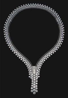Diamond ZIP necklace  Van Cleef & Arpels  1939