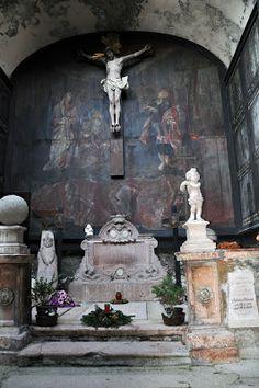 St. Peter's cemetery in Salzburg, Austria