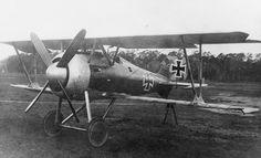 GERMAN AIRCRAFT FIRST WORLD WAR (Q 67964)   Siemens D.III /2 single seat fighter biplane. Second prototype.