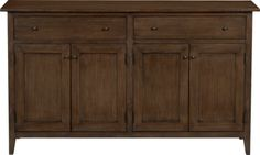 Lancaster Large Sideboard in New Furniture | Crate and Barrel