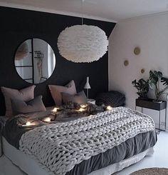 39 Fantastic bedroom color schemes that create a relaxing haven -.- 39 Fantastische Schlafzimmer-Farbschemata, die eine entspannende Oase schaffen -… 39 Fantastic bedroom color schemes that make a … - Blue Bedroom, Cozy Bedroom, Trendy Bedroom, Home Decor Bedroom, Modern Bedroom, Contemporary Bedroom, Bedroom Romantic, Girls Bedroom, Bedroom Furniture