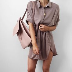 "Alicia Roddy på Instagram: ""Wish it was warm enough so I could wear this @tobyheartginger silky shirt dress """