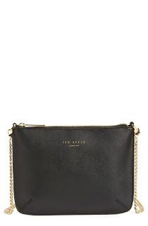 5db684444d59 This darling Ted Baker shoulder bag with cute gold hardware is going to be  perfect for