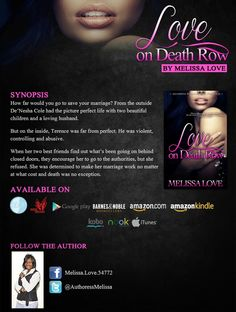 Love on Death Row by Melissa Love coming April 8th from Delphine Publications.