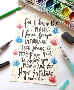 Jeremiah 19:11  #calligraphy #typography #christian #bibleverse #brushcallighraphy #watercolor #lettering #votd