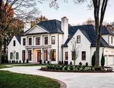 Home Renovation Ideas – Interior And Exterior - Home Remodeling Dream Mansion, Dream Homes, White Mansion, Dream Home Design, My Dream Home, Home Renovation, Home Remodeling, Dream House Exterior, Big Houses Exterior