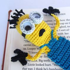 Ravelry: Minion Bookmark pattern by Jonas Matthies