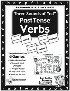 "Three Sounds of ""ed"" Past Tense Verbs"