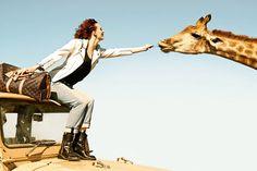 Karen Elson & Edie Campbell by Peter Lindbergh for Louis Vuitton #pixiemarket