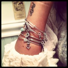 love alex and ani bracelets!