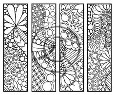 a perfect title for these adorable zendoodle bookmarks. Youre never too young or too old to have fun coloring! Doodle Designs, Doodle Patterns, Zentangle Patterns, Zentangles, Coloring Book Pages, Coloring Sheets, Halloween Coloring Pages, Printable Coloring, Doodle Art