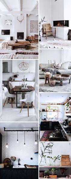 """Inspiration pour une déco """"urban rustic"""" : conseils et astuces pour intégrer cette tendance dans son home sweet home."""