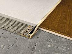 PROELEGANT Brass Flooring joint by PROGRESS PROFILES