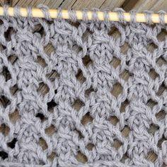 Knitting Dog Rose Stitch