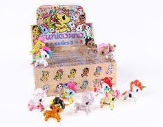 8tokidoki mermicorno series 4 case of 16 blind box