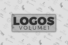 Logos vol. 1 by ijiki on @creativemarket