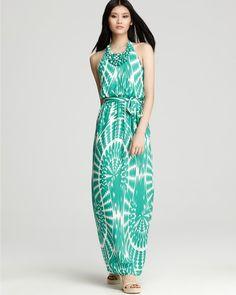 Sari Beaded Maxi Dress - Lyst