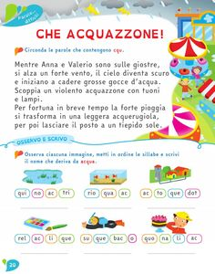 Il Filo delle idee - by ELI Publishing - issuu Earth Day Activities, Activities For Kids, Italian Courses, Book Cover Design, Problem Solving, Textbook, Elementary Schools, Montessori, Worksheets
