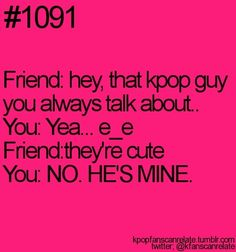 my friend told me that V is cute and i reacted just like this xD