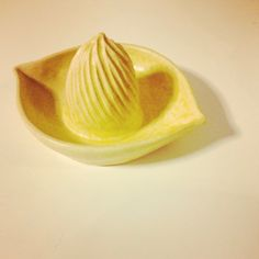 I made: lemon squeezer  handmade juicer