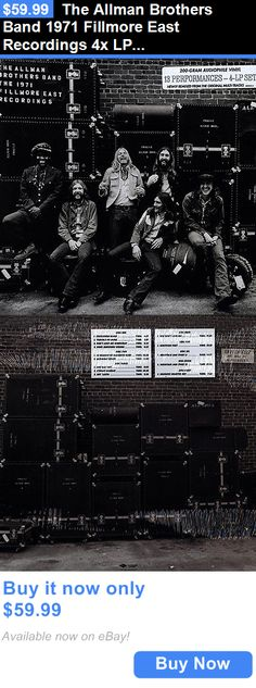 Music Albums: The Allman Brothers Band 1971 Fillmore East Recordings 4X Lp Vinyl Box Ri New BUY IT NOW ONLY: $59.99