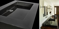 Carbon Fiber Sink. Very cool.